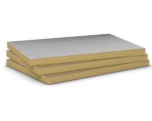 Airrock 33 Alu: pannello isolante in lana di roccia