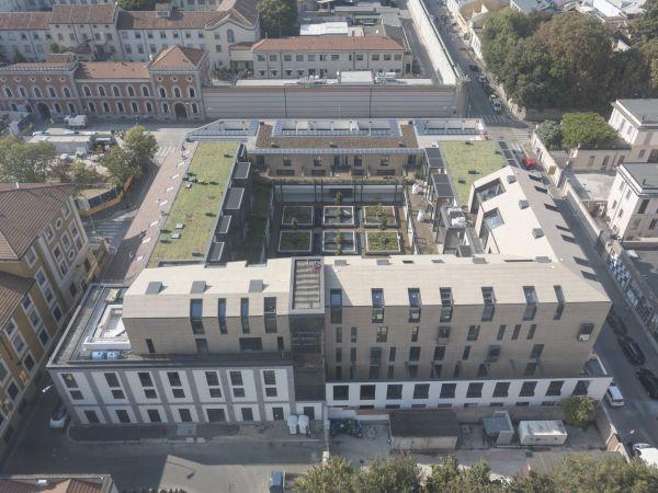 Progetto Il Chiostro a Milano, rinnovabili e tecnologia