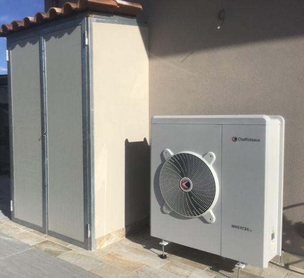 Riqualificazione efficiente con pompa di calore Arianext Compact Link