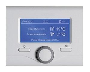 Cronotermostato ATAG OZ per la gestione di pompa di calore