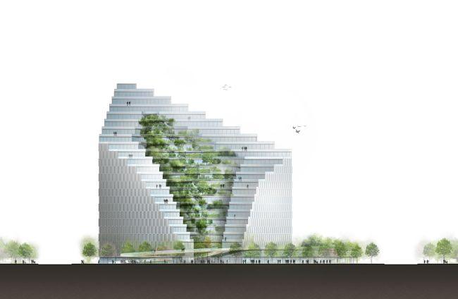 L'Ekspozita Building di Mario Cucinella a Tirana