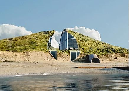 Dune House, una casa vacanze nelle dune del Massachusetts
