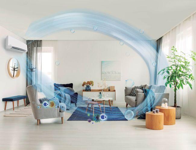 Aria indoor pura e salubre grazie alla tecnologia nanoe™ X