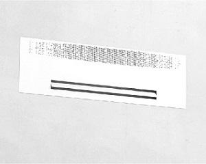 Fancoil filomuro per riscaldamento e raffrescamento