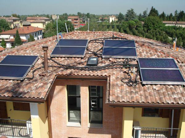 Vaillant: pannelli solari e pompe geotermiche per 6 palazzine multifamiliari