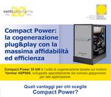 Compact Power: la cogenerazione plug&play con la massima affidabilità ed efficienza 15