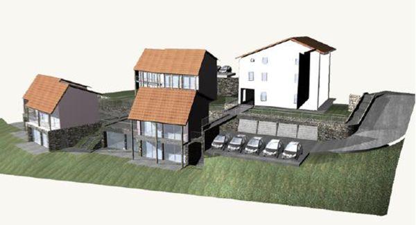 Sonde geotermiche verticali in edificio residenziale di nuova costruzione a Montevecchia