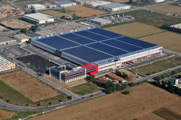 Tecnologia Mitsubishi Electric per l'impianto fotovoltaico su singolo tetto più grande d'Italia