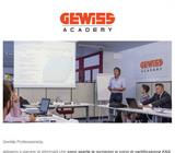 Vuoi ottenere la certificazione KNX Partner? Scopri le nuove date dei corsi GEWISS Academy. 3