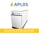 Micro-cogeneratore APLOS: energia elettrica e termica in un'unica soluzione 13