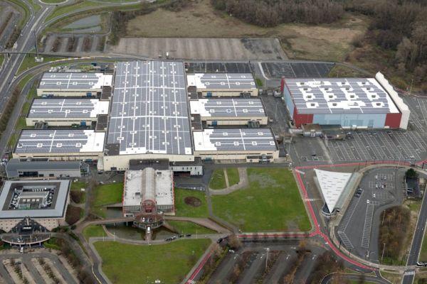 In Belgio il più grande impianto d'europa in pannelli in silicio amorfo by Derbigum