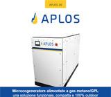 APLOS, microcogeneratore per la produzione di energia elettrica e termica 10