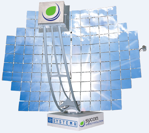 Concentratore ad inseguimento solare SYCON