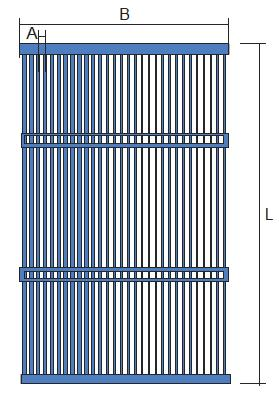 Sonda geotermica orizzontale a tubi capillari P.VG10