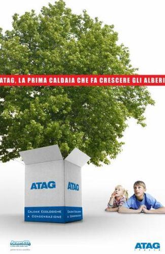 Atag Italia Milano Event  2010 a Zero CO2