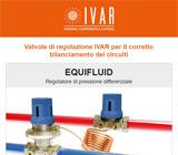 Valvole di regolazione IVAR per il bilanciamento dei circuiti 13