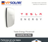 VP Solar è distributore di Tesla Energy 12