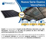 DUETTO: Nuovo modulo vetro/vetro con potenza fino a 330 Watt 9