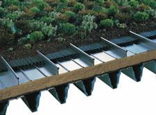 KALZIP tetto giardino