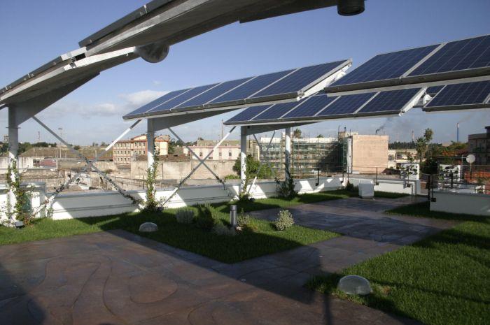 Il giardino Fotovoltaico Kino