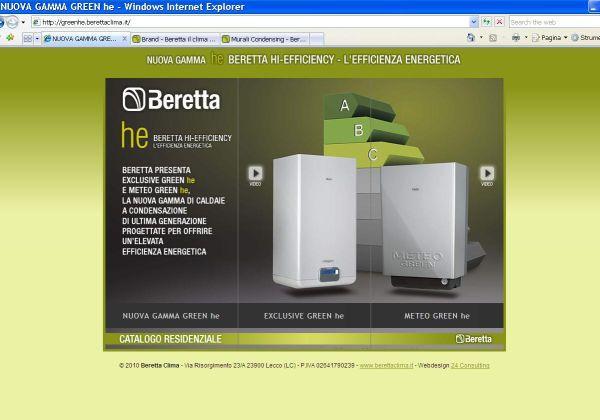 On-line la nuova gamma di caldaie a condensazione Beretta Hi-Efficiency