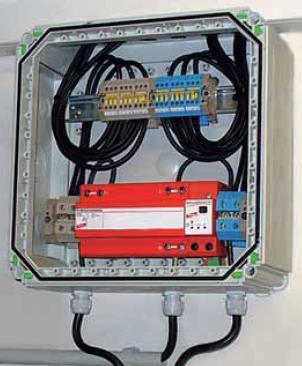 Scaricatore combinato tipo 1 DEHNLIMIT PV 1000