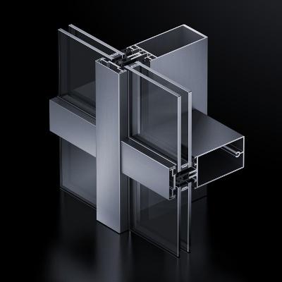 Facciate in alluminio – FW 50+ /FW 60+