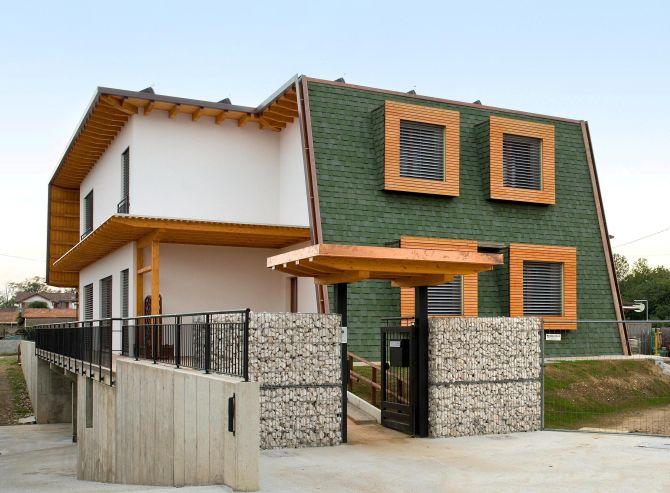Prima casa passiva in legno della Lombardia 1