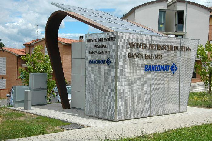 """Il Bancomat """"solare"""" 1"""