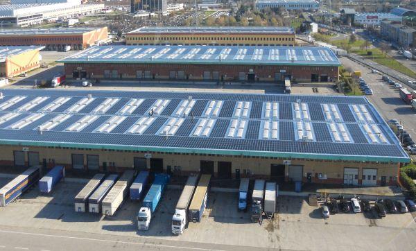 Connesso il tetto multi megawatt più grande di Verona