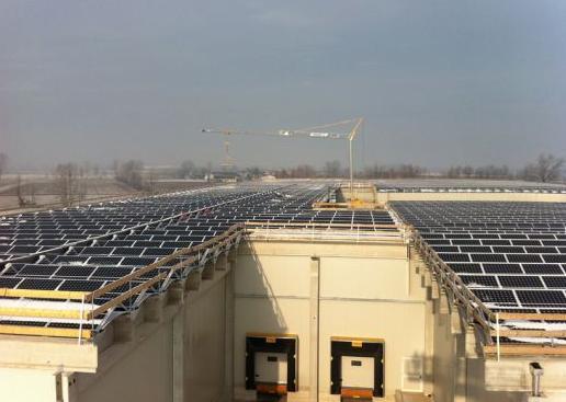 Fotovoltaico Rich Solar per i meloni Francescon