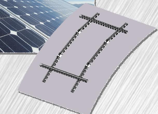 Profili e accessori per fissaggio pannelli fotovoltaici e solari