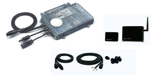 Micro inverter solare  di  Enecsys:  costi ridotti, massima resa energetica, progettazione e installazione del sistema semplificati