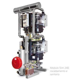 "Modulo Slim: generatore termico in versione ""slim"""