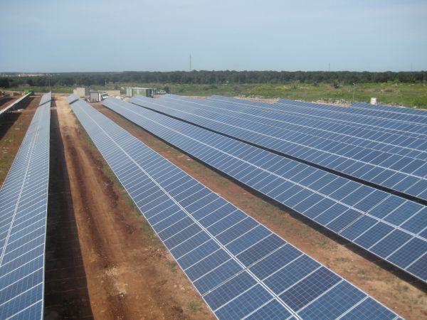 Tempi record per il nuovo impianto Solarcentury a Specchia