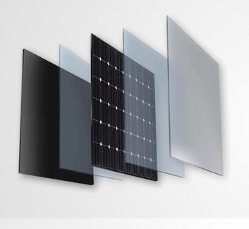 Laminam Energia. La superficie ceramica diventa lastra fotovoltaica