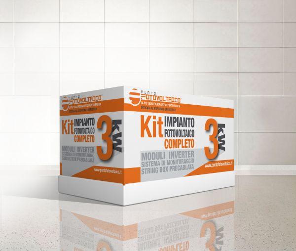 Il primo kit fotovoltaico: 3KW in scatola by Punto Fotovoltaico