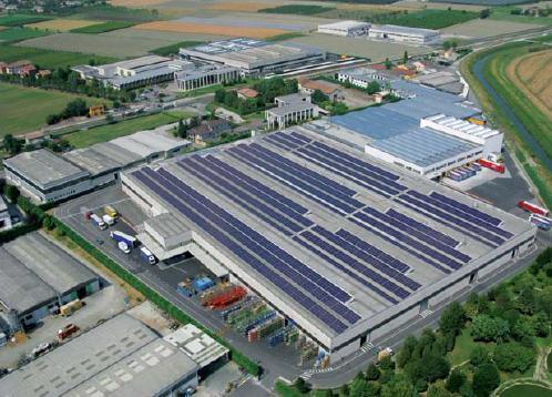 Un tetto fotovoltaico per Immergas