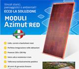 Moduli fotovoltaici rossi 2