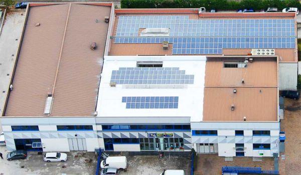 Moduli Electro Solar per gli stabilimenti CBE