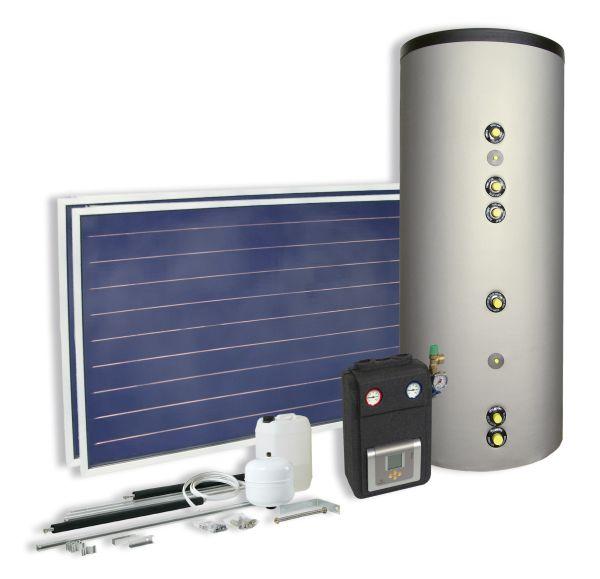 Kit solare con ALFA MIX: la lavatrice va ad acqua calda solare