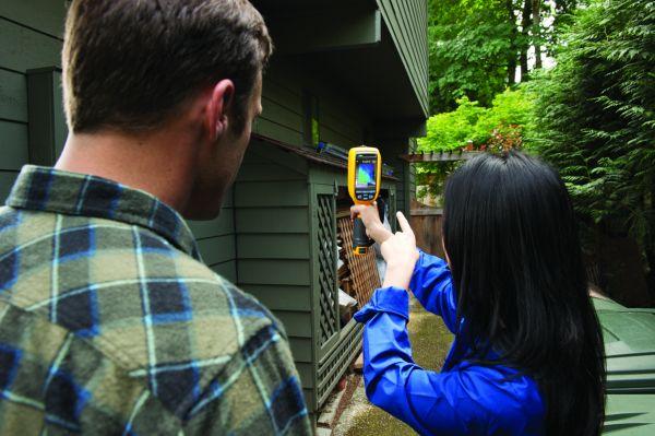 Termocamere della Serie Ti1XX di Fluke per applicazioni edili