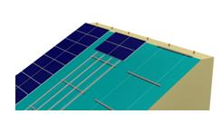 Skarpata: impianto fotovoltaico su terreni sconnessi e inclinati