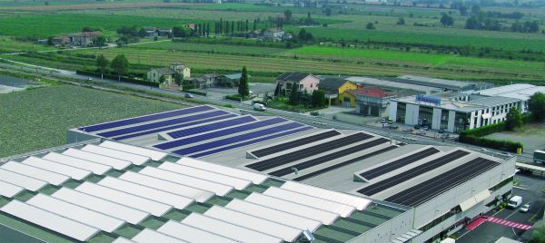 Nuovo tetto fotovoltaico per Immergas