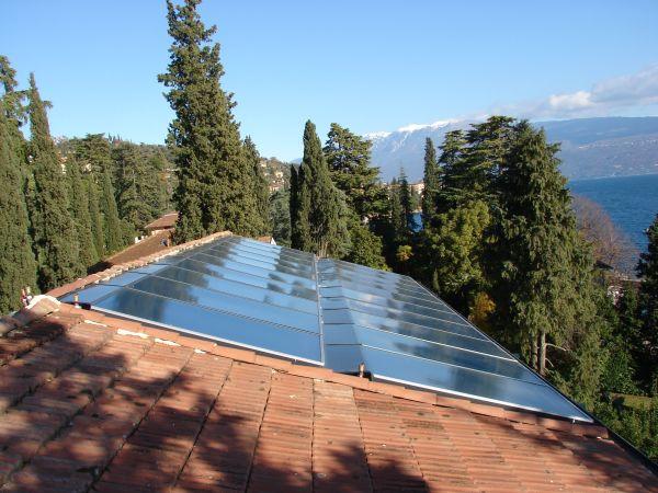 Solare termico Wagner & Co Solar Italia per l'hotel per Villa Capri