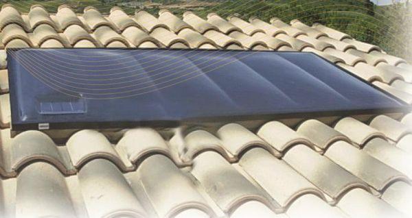 Solare termico ad emissioni zero Easy Solar System
