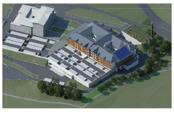 Nuovo ospedale di Asiago - rendering