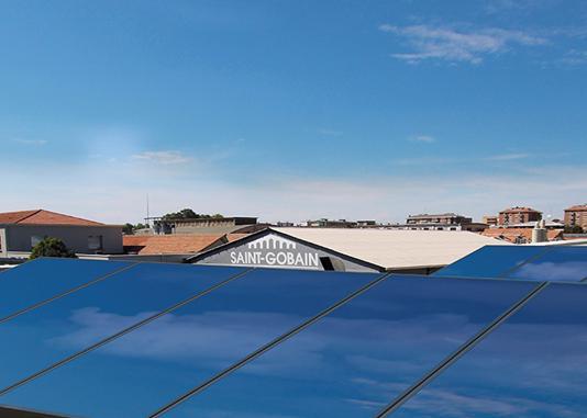 Pannelli fotovoltaici sul tetto Habitat Lab