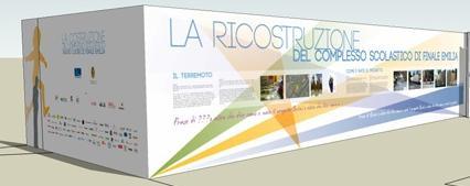 La ricostruzione eco sostenibile dell'asilo di Finale Emilia