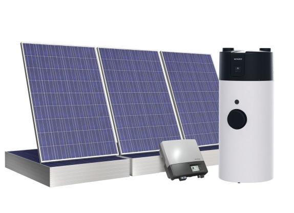 Schüco integra pompa di calore e impianto fotovoltaico in un unico sistema